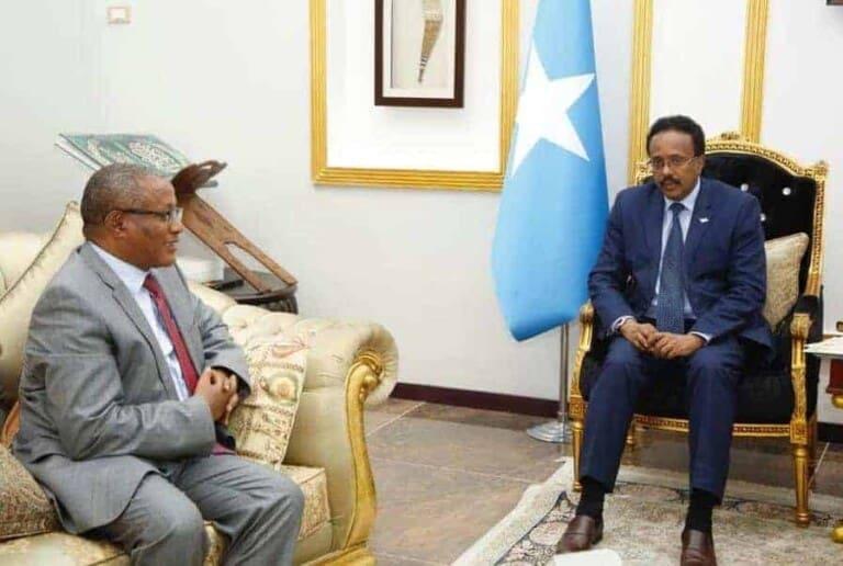 Safiirka Itoobiya ee Somalia oo shaaciyey Go'aan Madaxweyne Farmaajo ku taageeray Dagaalka Tigray (Akhriso)