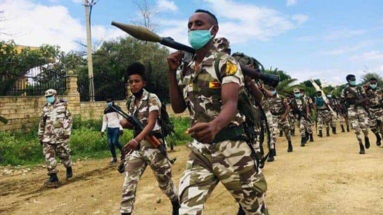 Q/Midoobay oo shaacisay in Ciidamada Eritrea ay maamulaan Qeyb ka mida Gobolka Tigray ee Itoobiya