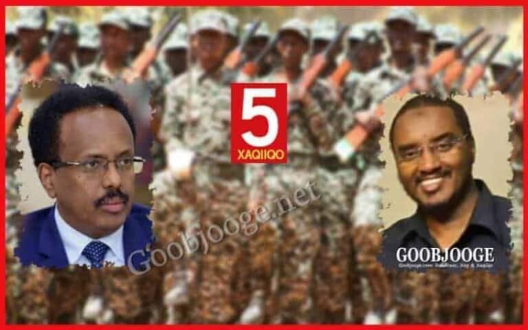 XOG: Shan Xaqiiqo oo ku saabsan Ciidamada Dowladda Somaliya tababarka ugu dirtay dalka Eritrea