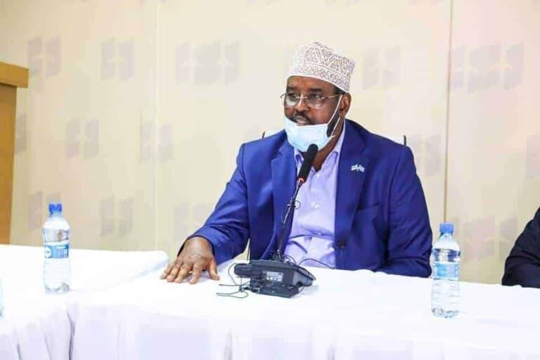 """Axmed Madoobe: """"Haddii ay na anfaceyso Keli-talisnimo, Dagaal sokeeya kama dhaceen Soomaaliya.."""""""