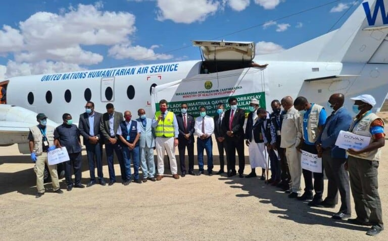 AKHRISO: Sida Somaliland, Maamul Goboleedyada iyo G/Banaadir loogu qeybiyay Tallaalka Covid-19 (Sawirro)