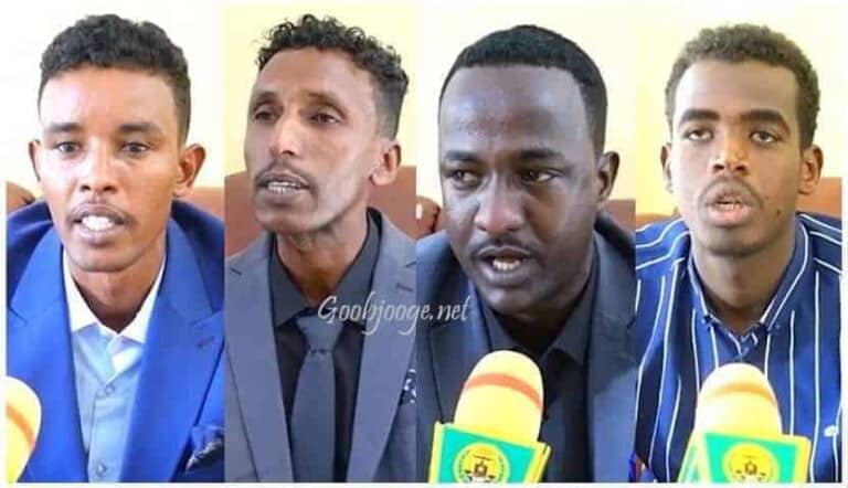 Somaliland oo soo Bandhigtay Saraakiil ka tirsanaa Danab iyo Gorgor oo ka goostay dowladda Somaliya