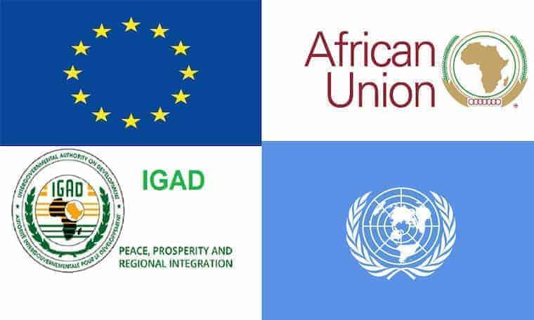 Midowga Afrika, Midowga Yurub, IGAD iyo Q/Midoobay War wadajir ah kasoo saaray xaaladda Somalia