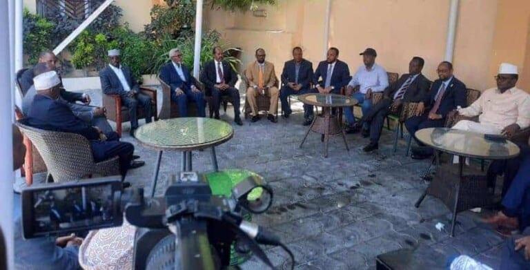 Heshiiskii Doorashada oo u xayiran khilaafka Somaliland iyo Qorshe la marsiin rabay Cabdi Xaashi..