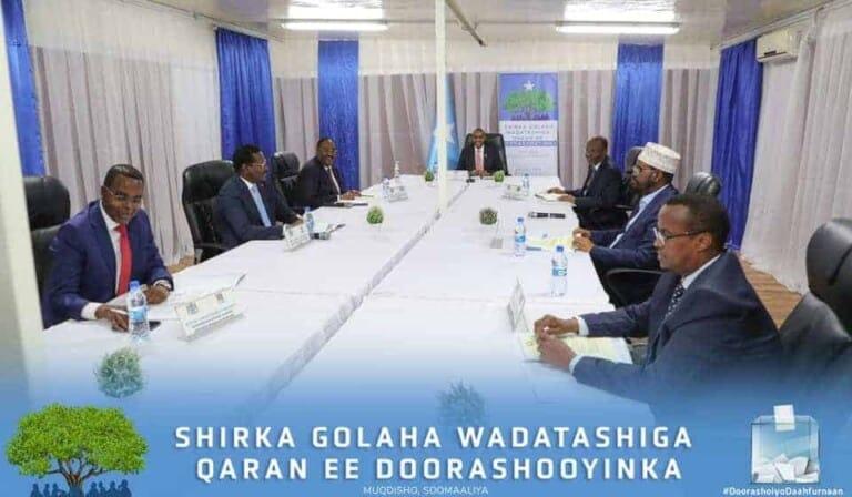 Faahfaahin: Xogta Qodobada la isku waafaqay Shirka Wadatashiga Doorashada Muqdisho