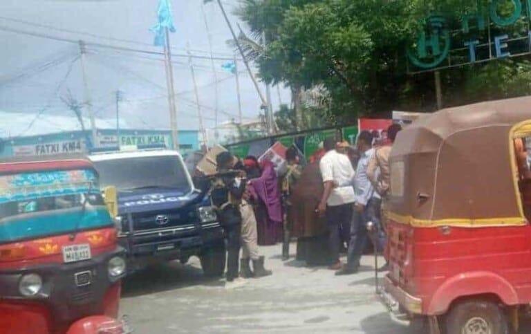 Ciidamada Dowladda oo hor istaagay Bannaanbax ay dhigayeen Waalidiinta Askarta ku maqan Eritrea
