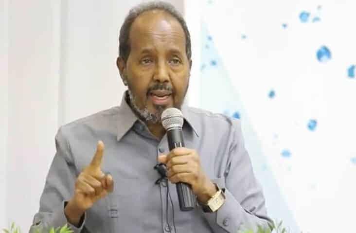 """Xasan Sheekh oo si kulul uga hadlay Askarta ku maqan Dalka Eritrea. """"Daawo Baaq ku socda Farmajo iyo.."""""""